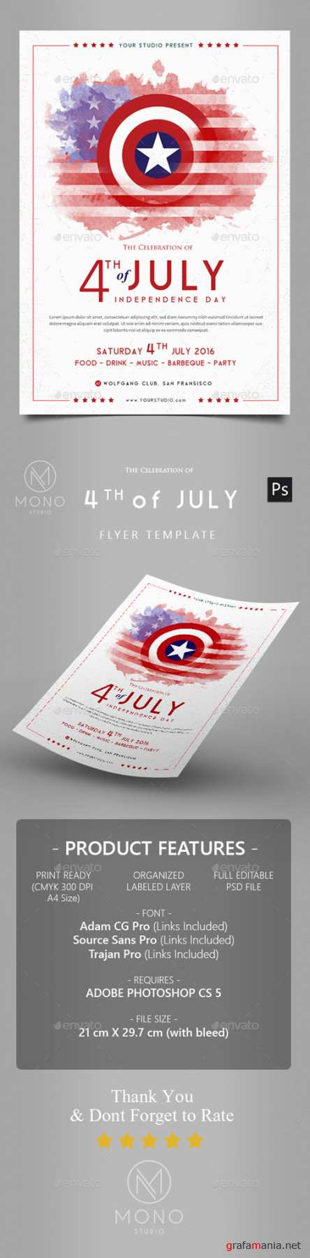 4th of July Flyer 16680272