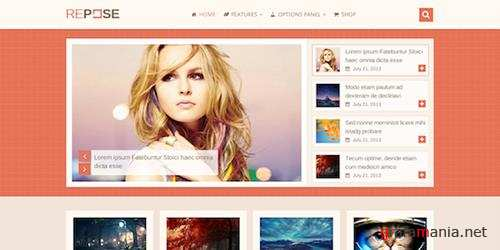 MyThemeShop - Repose v1.2.2 - WP Theme That is Perfect For Blogs, Businesses & Shops