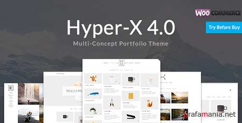 ThemeForest - HyperX v4.5 - Portfolio for Freelancers and Agencies - 13439786