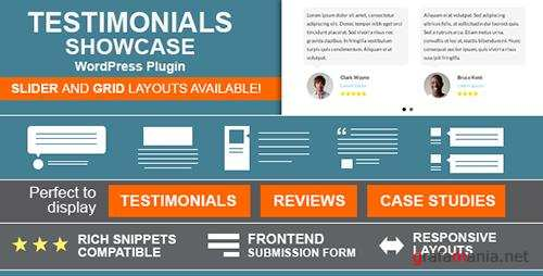 CodeCanyon - Testimonials Showcase v1.5.6 - WordPress Plugin - 6588139