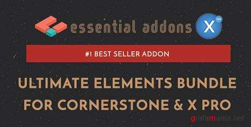 CodeCanyon - Essential Addons for Cornerstone & X Pro v2.2.0 - 19232171