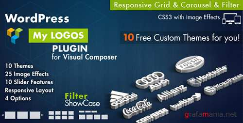 CodeCanyon - Logos Showcase for Visual Composer WordPress v2.7 - 7847436