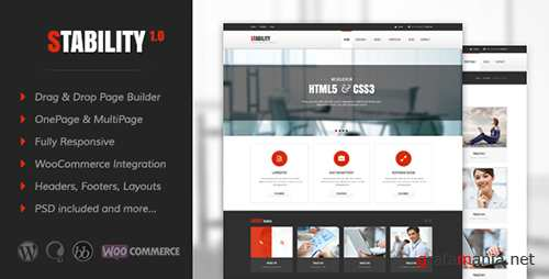 ThemeForest - Stability v3.0.6 - Responsive MultiPurpose WordPress Theme - 9279602