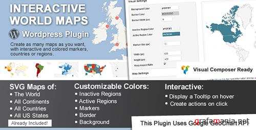 CodeCanyon - Interactive World Maps v1.9.9 - 2874264