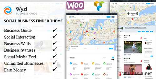 ThemeForest - Wyzi v1.5.1 - Multi-purpose WordPress Directory Listing Theme - 18850856