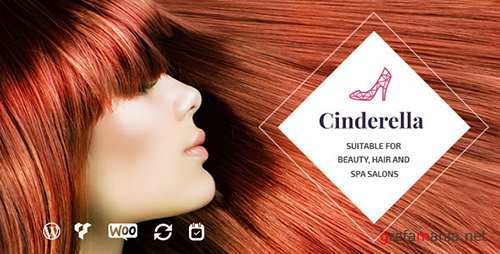 ThemeForest - Cinderella v1.6 - Beauty, Hair and Spa Salon WordPress Theme - 12237661