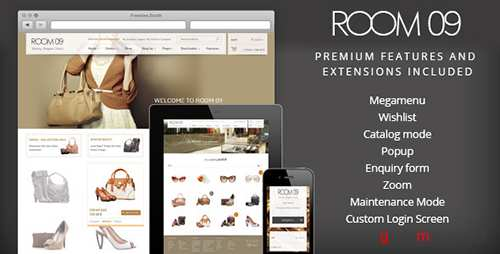 ThemeForest - Room 09 Shop v2.3.0 - Multi-Purpose e-Commerce Theme - 4638247