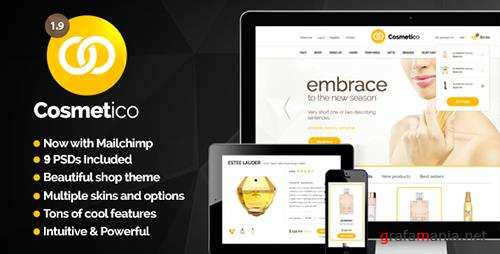ThemeForest - Cosmetico v1.9.3 - Responsive eCommerce WordPress Theme - 5615400