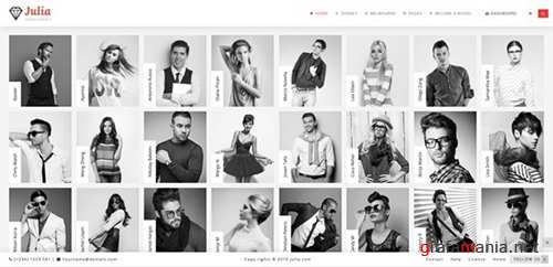 ThemeForest - Julia v1.6.0 - Talent Management WordPress Theme - 13291157