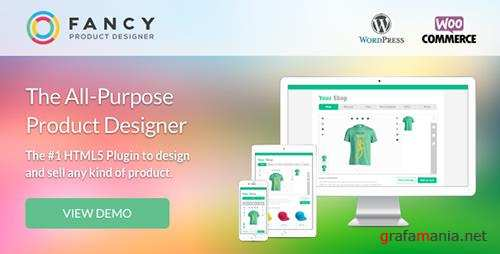 CodeCanyon - Fancy Product v3.4.2 - Designer WooCommerce/WordPress - 6318393
