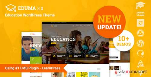 ThemeForest - Eduma v3.0.7 - Education WordPress Theme | Education WP - 14058034