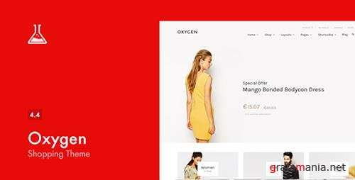 ThemeForest - Oxygen v4.4 - WooCommerce WordPress Theme - 7851484