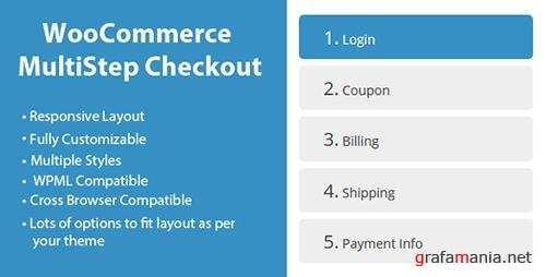 CodeCanyon - WooCommerce MultiStep Checkout Wizard v2.5 - 8125187