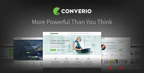 ThemeForest - Converio v1.0.30 - Responsive Multi-Purpose WordPress Theme - 466052
