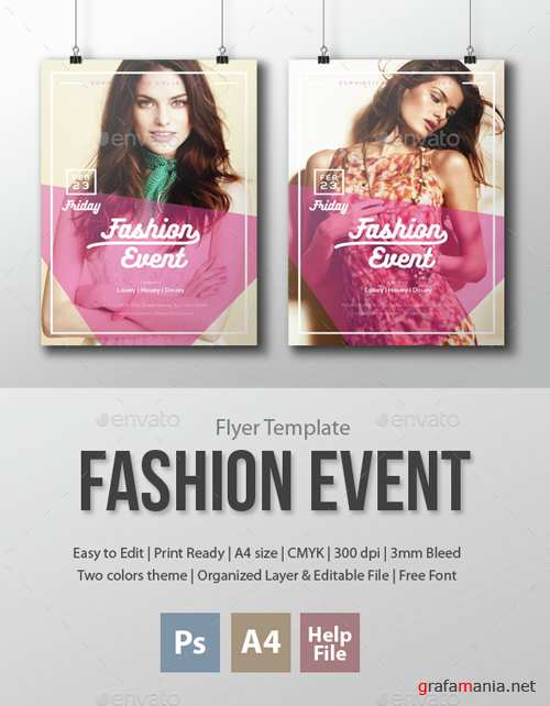 Fashion Event Flyer Template 15334774