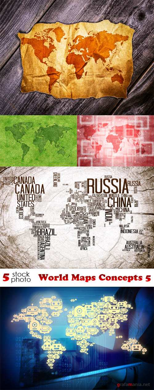 Photos - World Maps Concepts 5