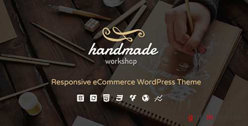 ThemeForest - Handmade v3.2 - Shop WordPress WooCommerce Theme - 13307231
