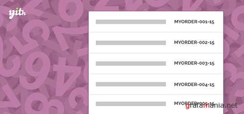 YiThemes - YITH WooCommerce Sequential Order v1.0.11