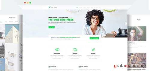 JoomShaper - Spectrum v1.1 - Premium Responsive Business, Corporate, Agency Joomla Template