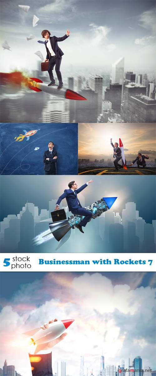 Photos - Businessman with Rockets 7