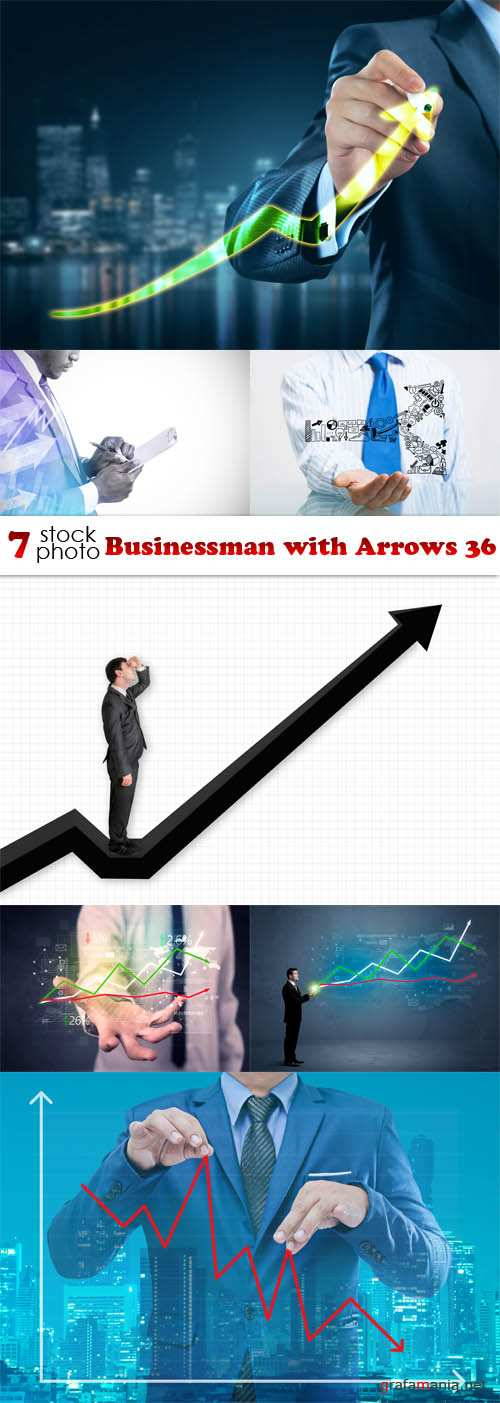 Photos - Businessman with Arrows 36