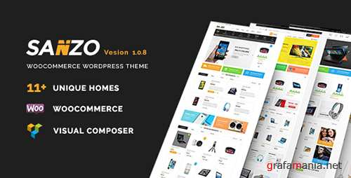 ThemeForest - Sanzo v1.0.7 - Responsive WooCommerce WordPress Theme - 17492330