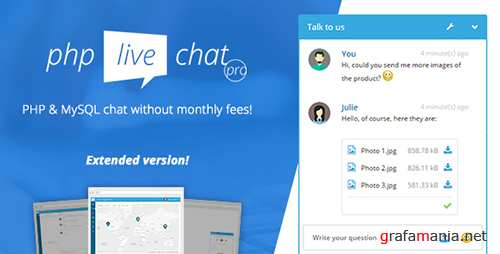 CodeCanyon - PHP Live Chat Pro v1.0 - 19932933