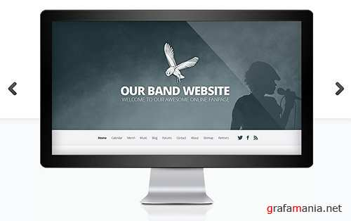 ElegantThemes - Harmony v2.4.9 - Band WordPress Theme