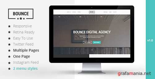 ThemeForest - BOUNCE - Responsive Multipurpose Template (Update: 20 May 17) - 8232518