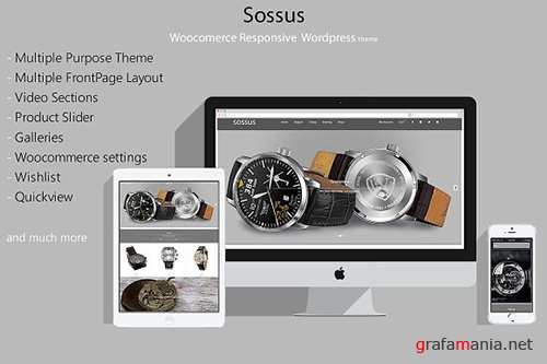 Sossus v1.0.0 - Blog and Shop Theme - CM 1512108