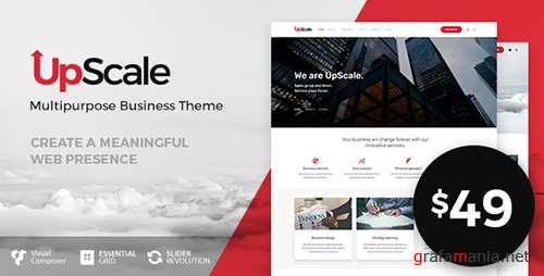 ThemeForest - UpScale v1.0.2 - Multi-Purpose Business Theme - 19731058