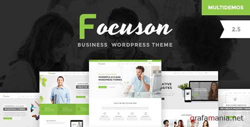 ThemeForest - Focuson v2.7 - Business WordPress Theme - 15611214
