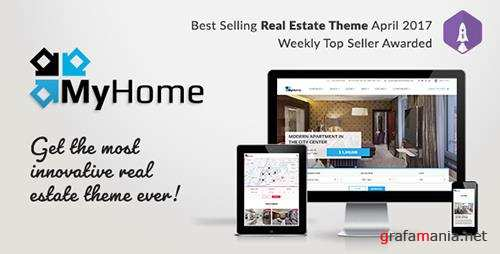 ThemeForest - MyHome v1.0.6 - Real Estate WordPress Theme - 19508653