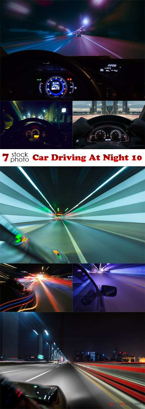 Photos - Car Driving At Night 10