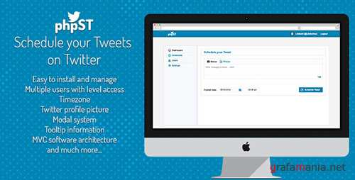 CodeCanyon - phpST v1.0 - Schedule your Tweets on Twitter - 8146727