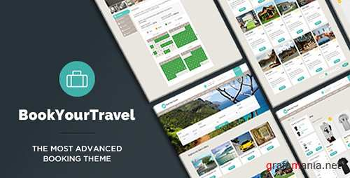 ThemeForest - Book Your Travel v7.21 - Online Booking WordPress Theme - 5632266