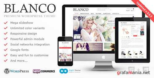 ThemeForest - Blanco v3.5.3 - Responsive WordPress Woo/E-Commerce Theme - 2755246