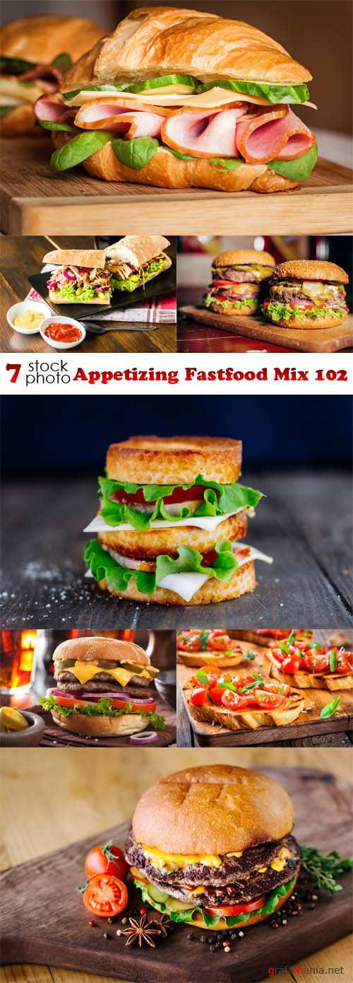 Photos - Appetizing Fastfood Mix 102