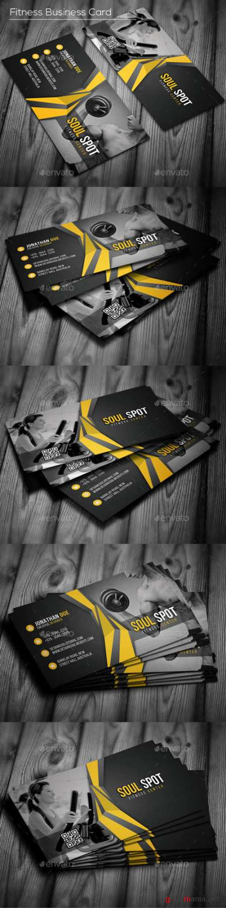 Fitness Business Card 16835858