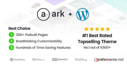 ThemeForest - The Ark v1.18.2 - Multi-Purpose WordPress Theme - 19016121