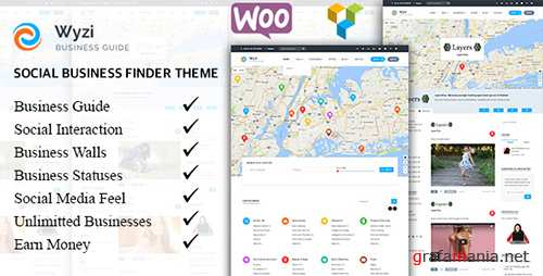 ThemeForest - Wyzi v1.5.2 - Multi-purpose WordPress Directory Listing Theme - 18850856