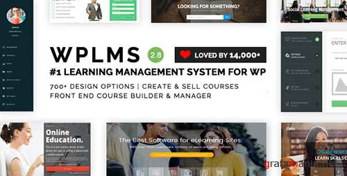 ThemeForest - WPLMS v2.8.1 - Learning Management System for WordPress - 6780226