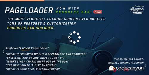 CodeCanyon - PageLoader v2.6 - Loading Screen and Progress Bar for WordPress - 6594364