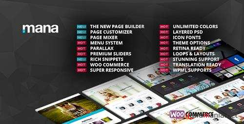 ThemeForest - Mana v1.9.12 - Responsive Multi-Purpose Theme - 5895568