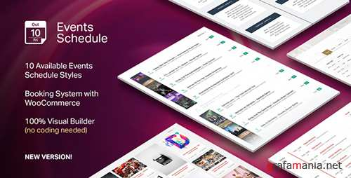 CodeCanyon - Events Schedule v2.0.4.1 - WordPress Plugin - 14907462
