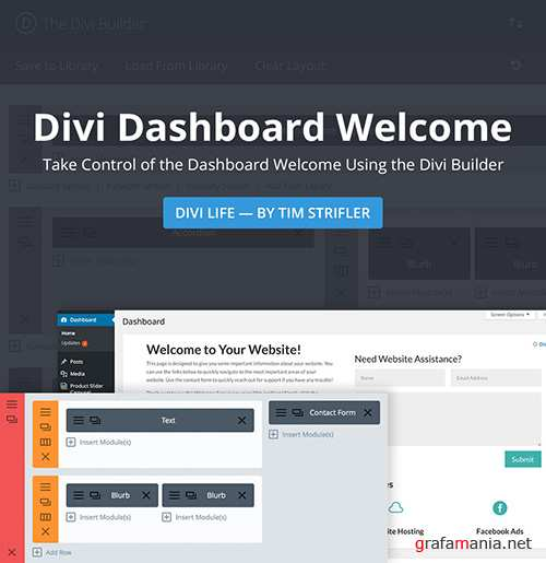 DiviLife - Divi Dashboard Welcome v1.2