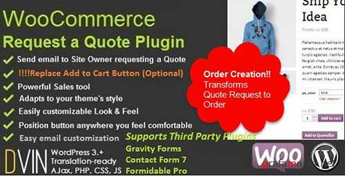 CodeCanyon - WooCommerce Request a Quote v2.54 - 6460218
