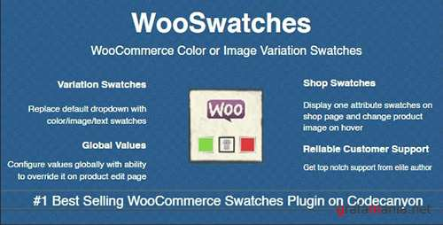 CodeCanyon - WooSwatches v2.3.8 - Woocommerce Color or Image Variation Swatches - 7444039