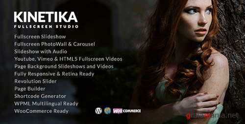 ThemeForest - Kinetika v2.9.5 - Fullscreen Photography Theme - 12162415