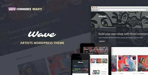 ThemeForest - Wave v10.0 - WordPress Theme for Artists - 5038373